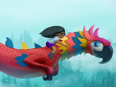 pintura-digital-lapa-dragon